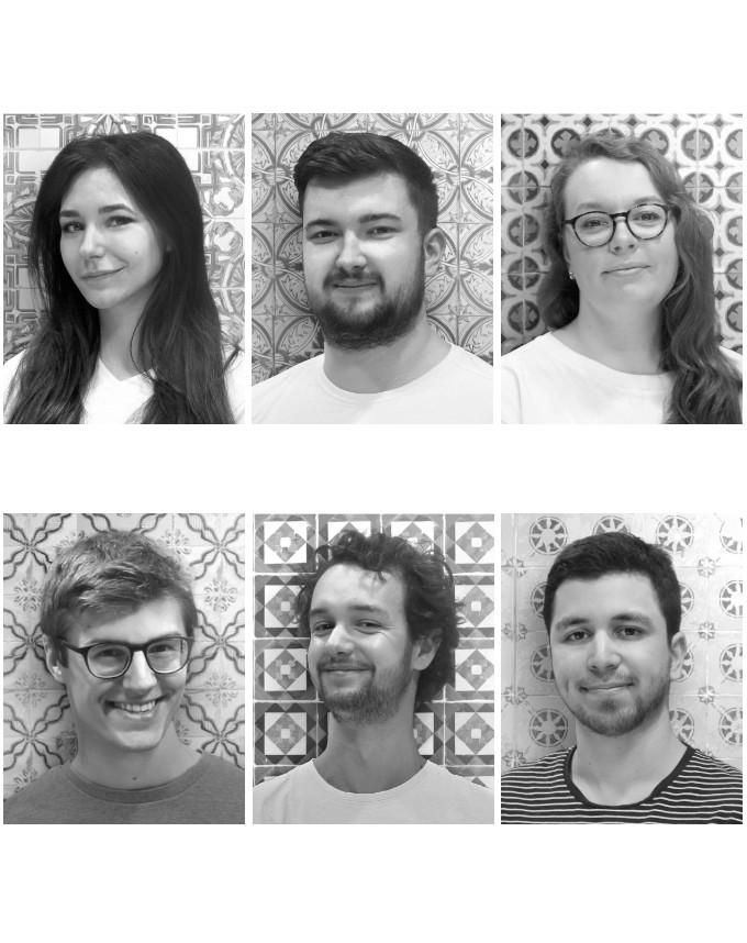 Otalia Caussé, Geoffroy Collin, Louise Grardel, Antoine Marchand, Robin Merle, Fabien Meyran